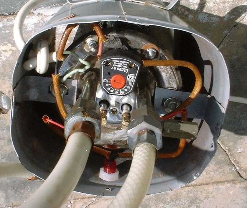 Geyser thermostat wiring diagram