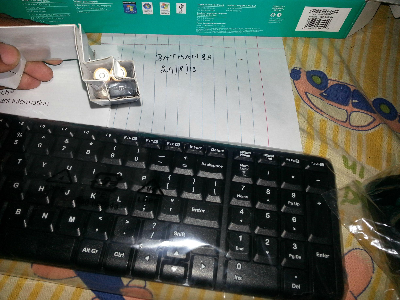 Fs Keyboard And Mice Logitech Wireless Combo Mk220 Techenclave Mouse Lxhugzh