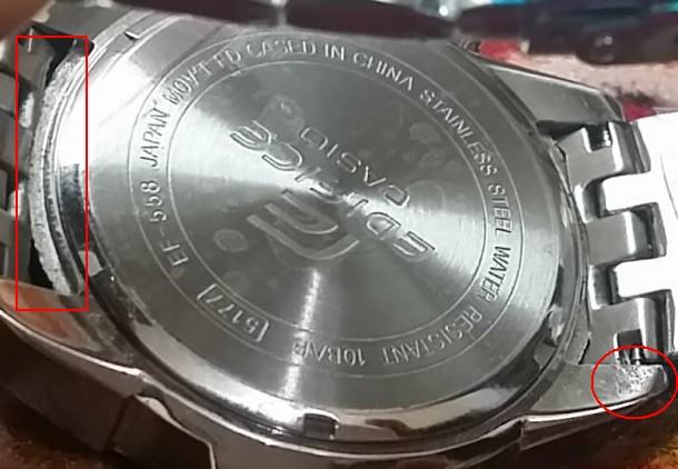 Casio Edifice Ef 558d 1av Fake Or Original Techenclave Indian