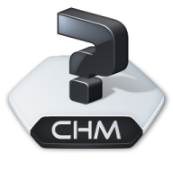 How to open CHM extension files