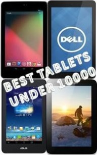 Best budget tablets to buy under 10000