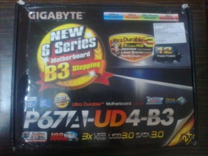 Intel 2600k and gigabyte p67a-ud4-b3 in house....