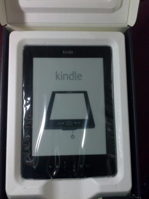 Got my first Amazon Kindle (2GB) Black